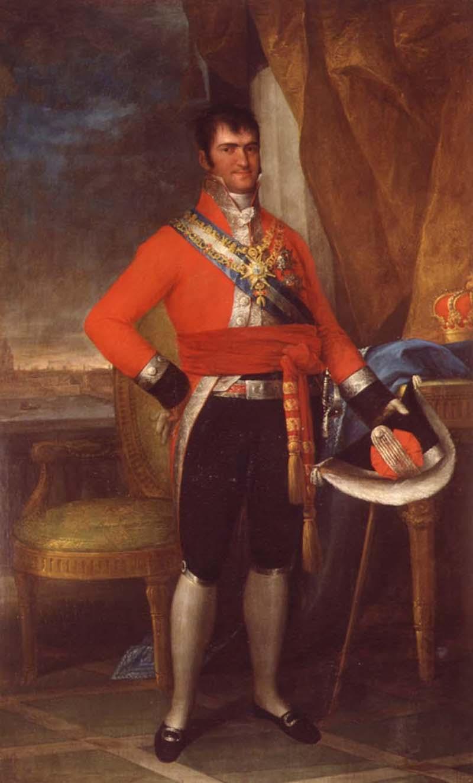 S.M. el Rey Don Fernando VII. Colección RMCS.