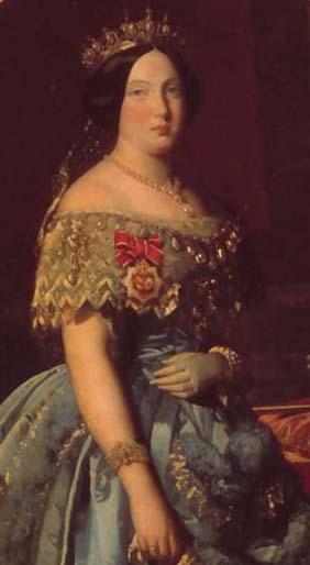 S.M. la Reina Doña Isabel II. Colección RMCS.