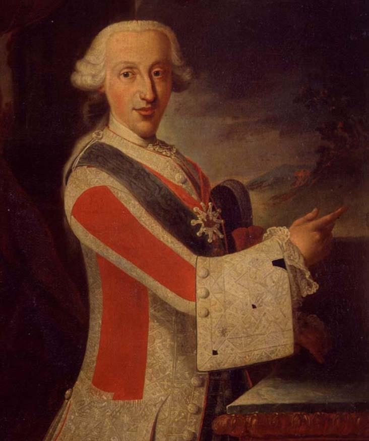 S.A.R el infante Don Luis Antonio de Borbón. Colección RMCS.
