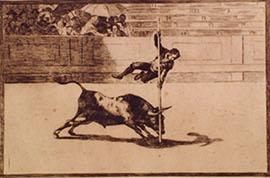 Tauromaquia. Francisco de Goya. RMCS