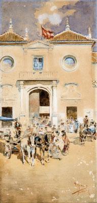 Puerta del Príncipe. F. Ramos. Archivo RMCS.