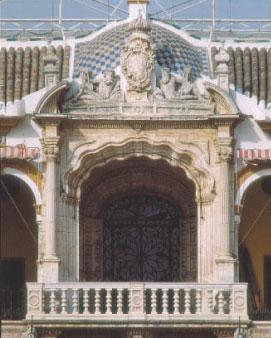 Palco del Príncipe, reservado a la Familia Real. Foto José Morón. Archivo RMCS.