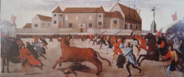 El toro de Benavente, s.XVI. Anónimo. Chateau de la Folie, Lieja (Bélgica).
