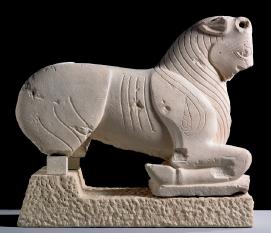 Toro ibérico de Porcuna, s.VI a.C. Piedra semicaliza. Museo de Jaén.