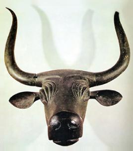 Toro de Costitx, s. IV-III a.C. Bronce. Museo Arqueológico Nacional, Madrid.