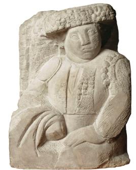 Torero, 1913. Manolo Hugué. Piedra. Museo Nacional de Arte de Cataluña, Barcelona.