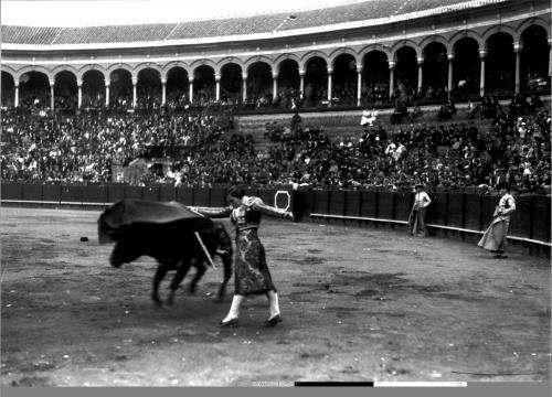 La torera Juana Cruz, 1934.