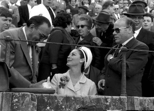 La actriz Ava Gardner, 1964.