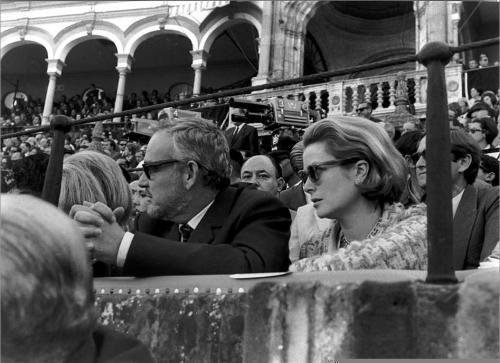 El Príncipe Rainiero de Mónaco y Grace Kelly, 1966.