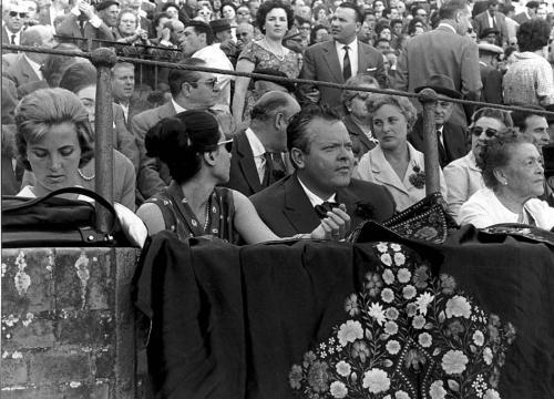 El cineasta Orson Welles, 1967.